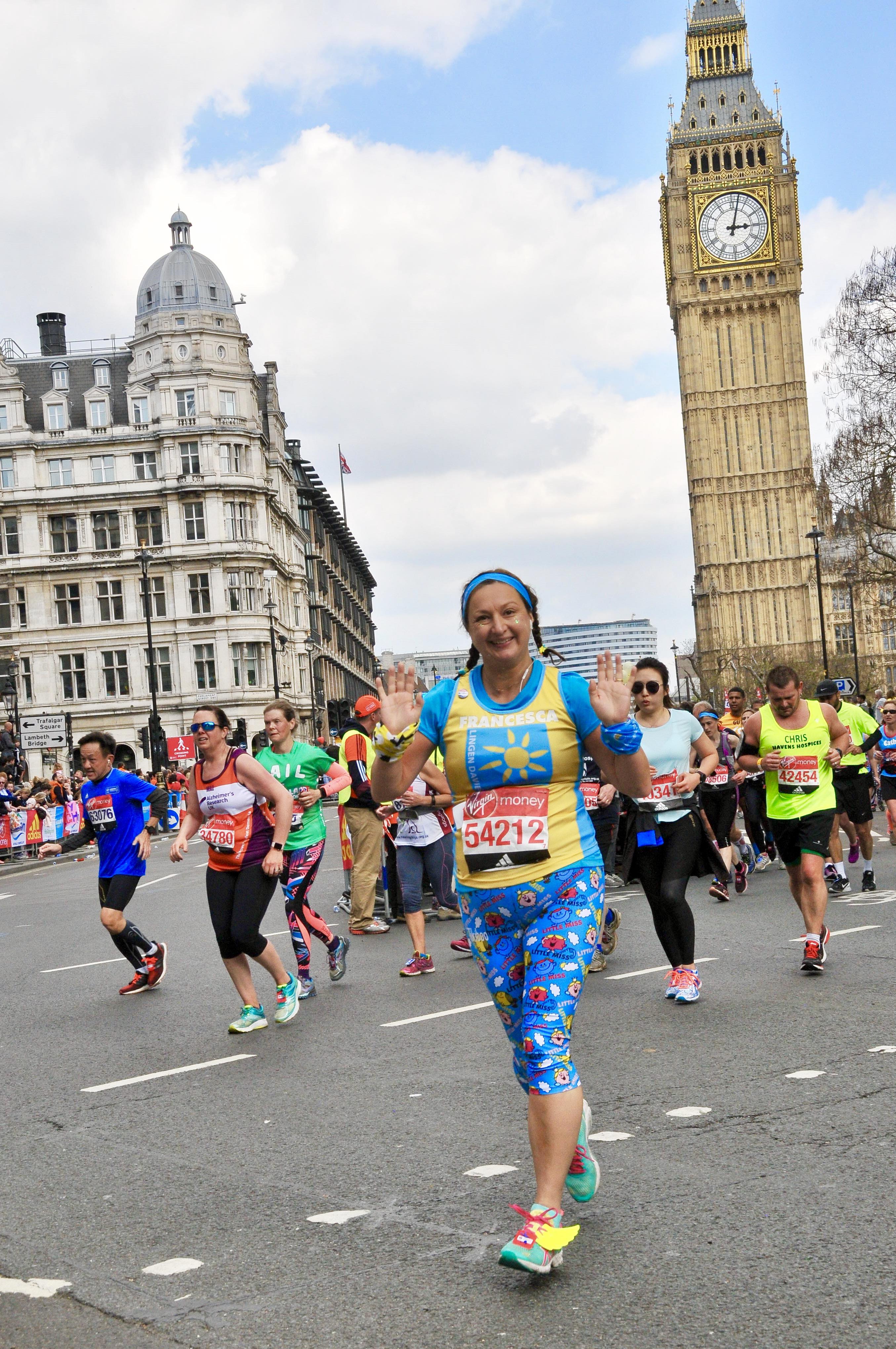 london marathon 2019 lingen davies